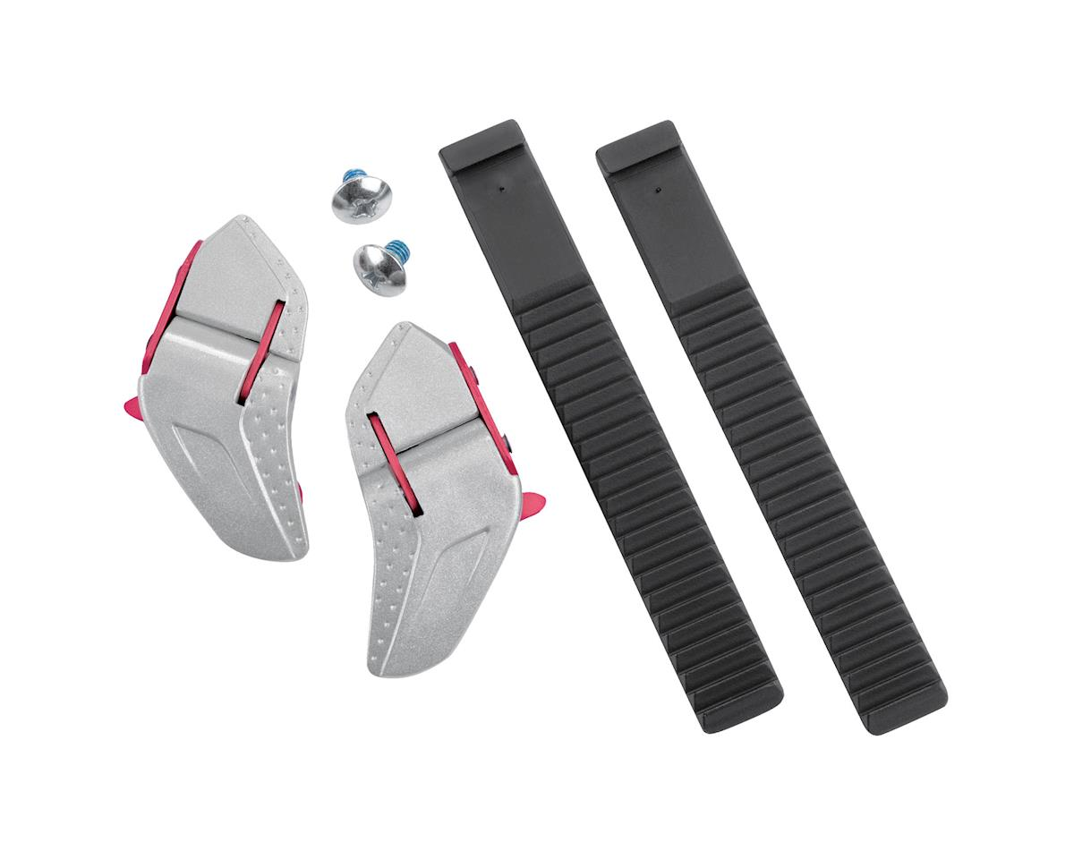 Shimano Low Profile Buckle and Strap Set (Black/Silver) (One Size)