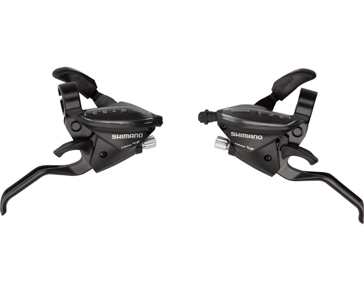 Shimano ST-EF510 Flat Bar Brake/Shift Lever Set (Black) (3x9-Speed)