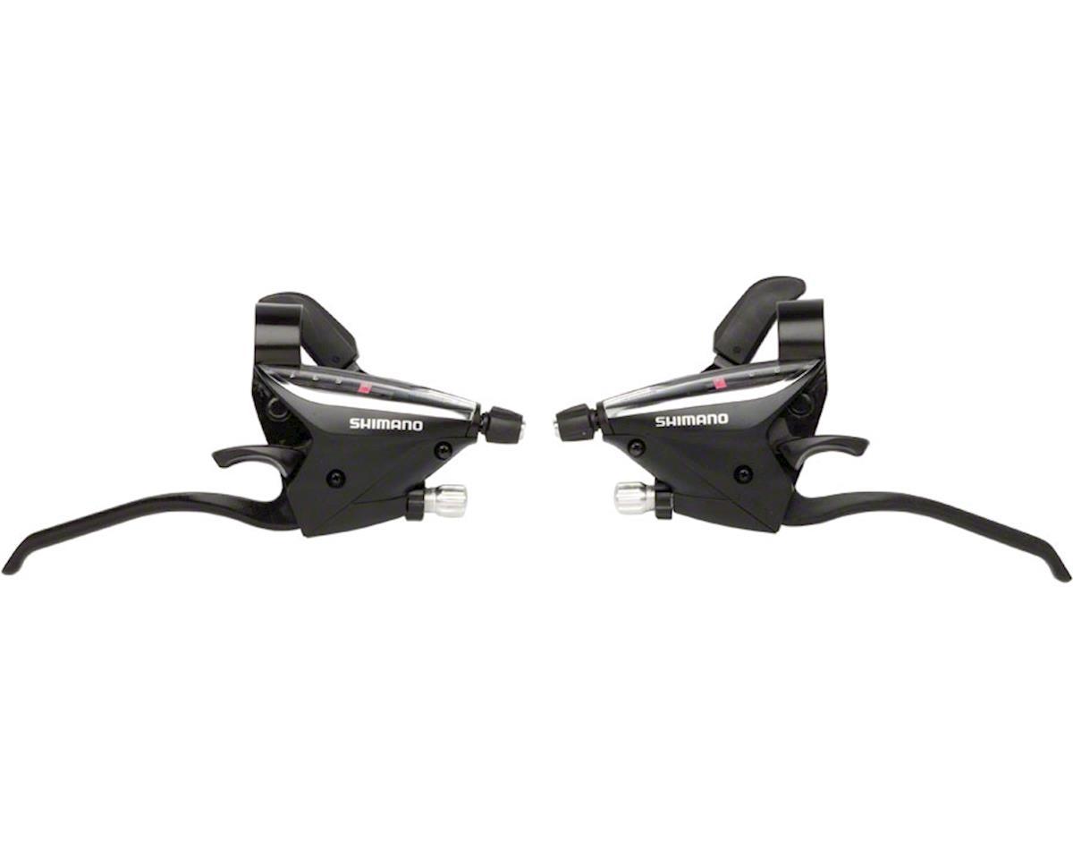 268708a804c Shimano ST-EF65 Brake/Shift Lever Set (Black) (3x7-Speed ...