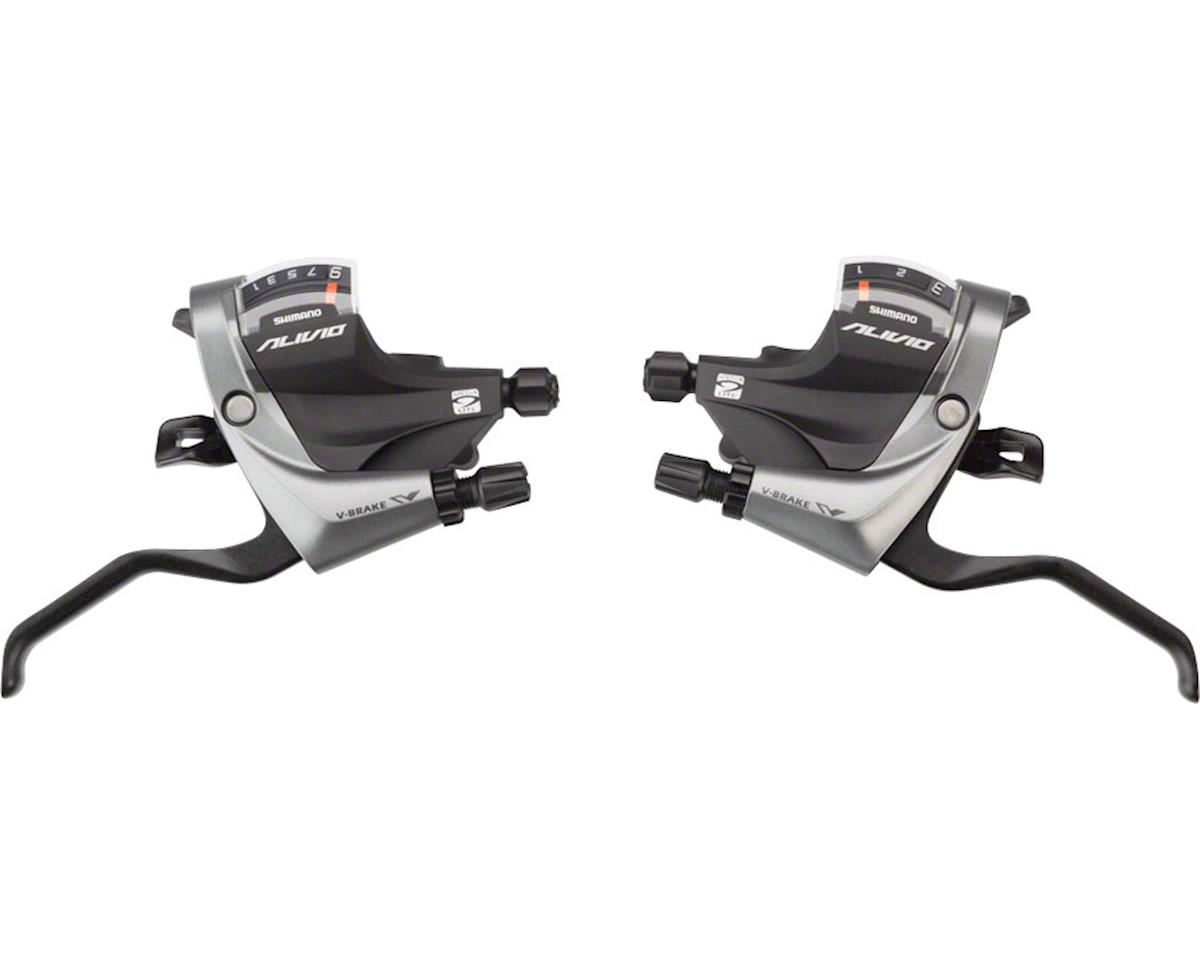 Shimano Alivio ST-M4000 Brake/Shift Lever Set (3x9-Speed)