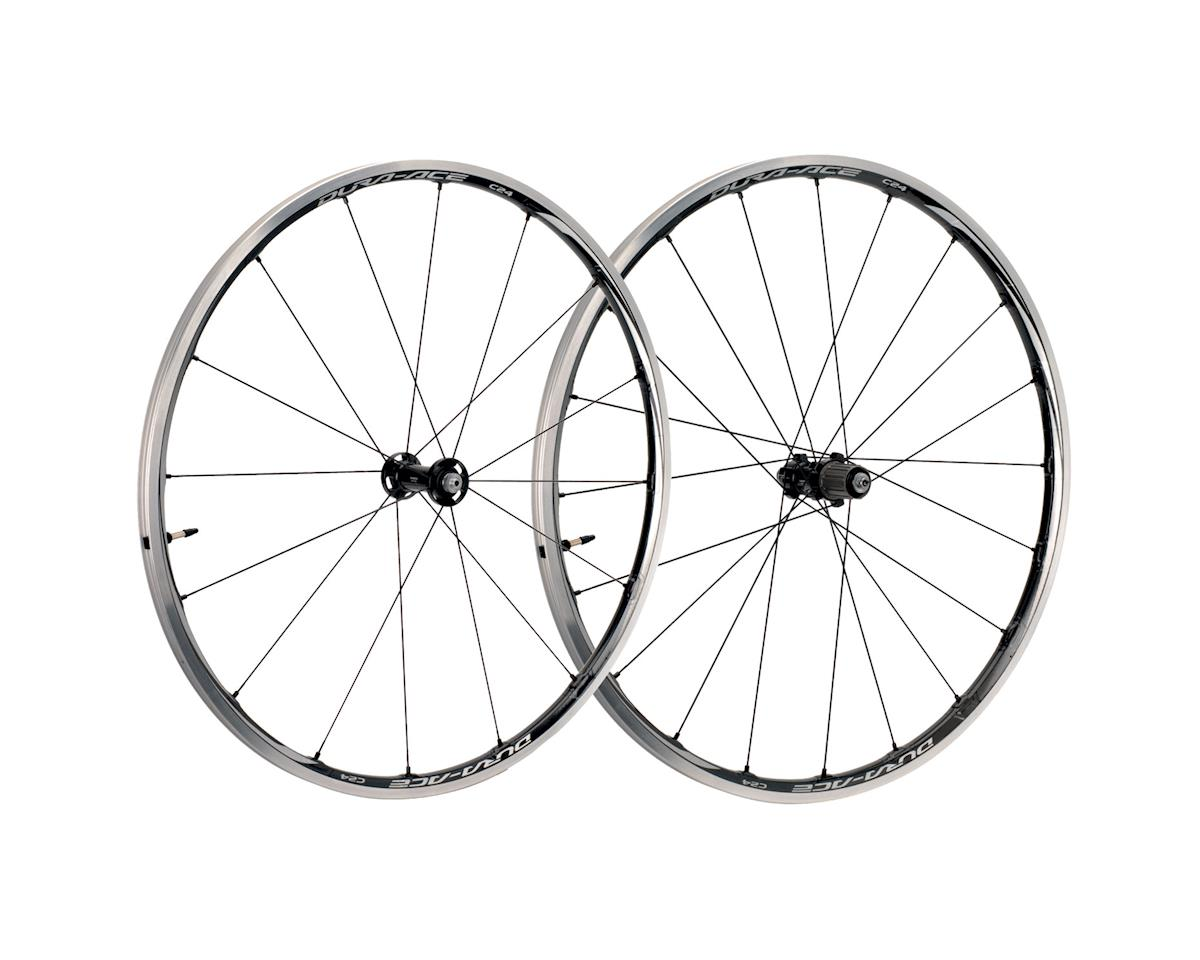Shimano Dura-Ace WH-9000-C24-TL Tubeless Clincher Wheelset (Black)