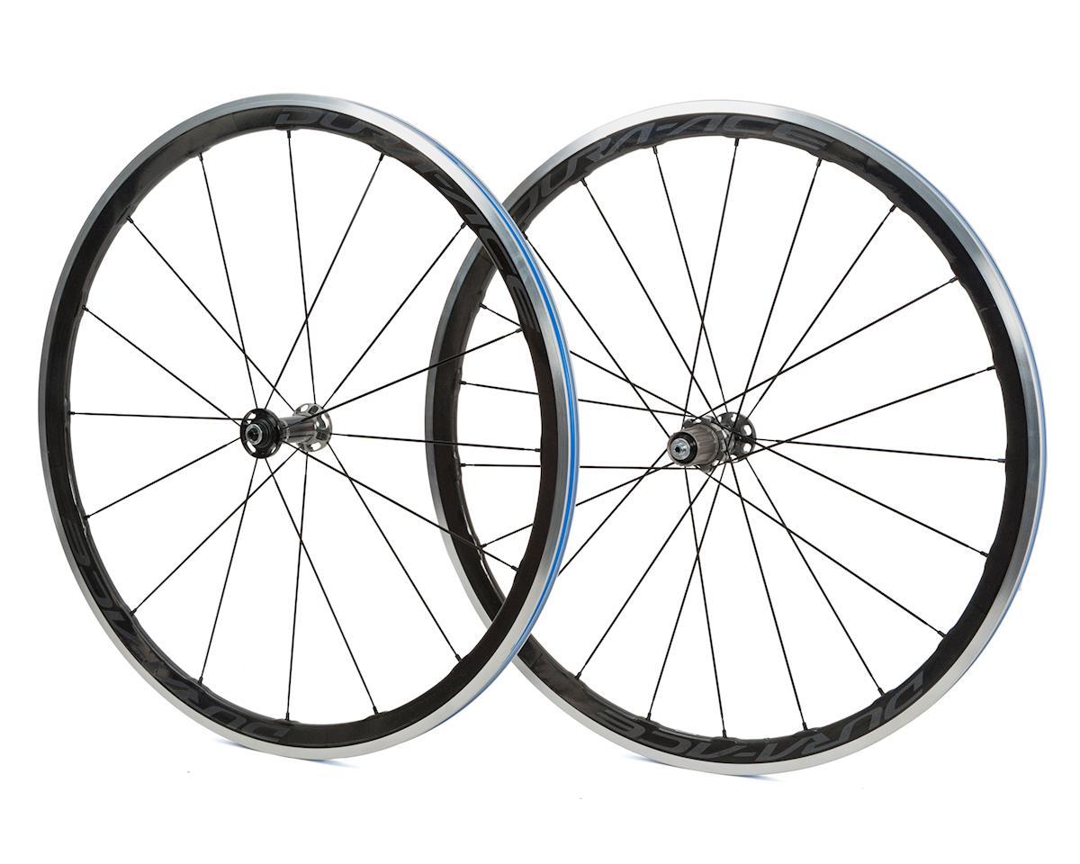 Dura-Ace WH-R9100-C40-CL Carbon Clincher Wheelset w/ Wheel Bags