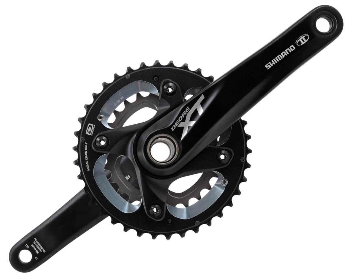Shimano XT M785 10-Speed Crankset (Black) (170mm) (26-38T)