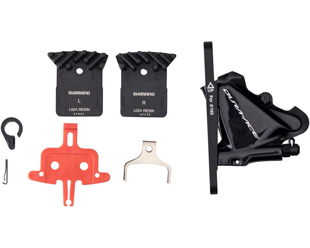 Shimano Dura Ace BR-R9170 Front Flat-Mount Disc Brake Caliper with Resin Pads wi