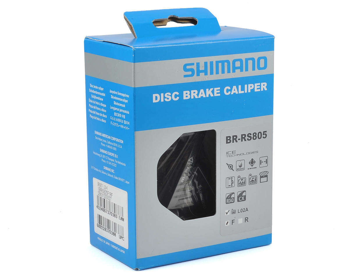 Shimano BR-RS805 Front Disc Brake Caliper Flat Mount Hydraulic Road NEW in Box
