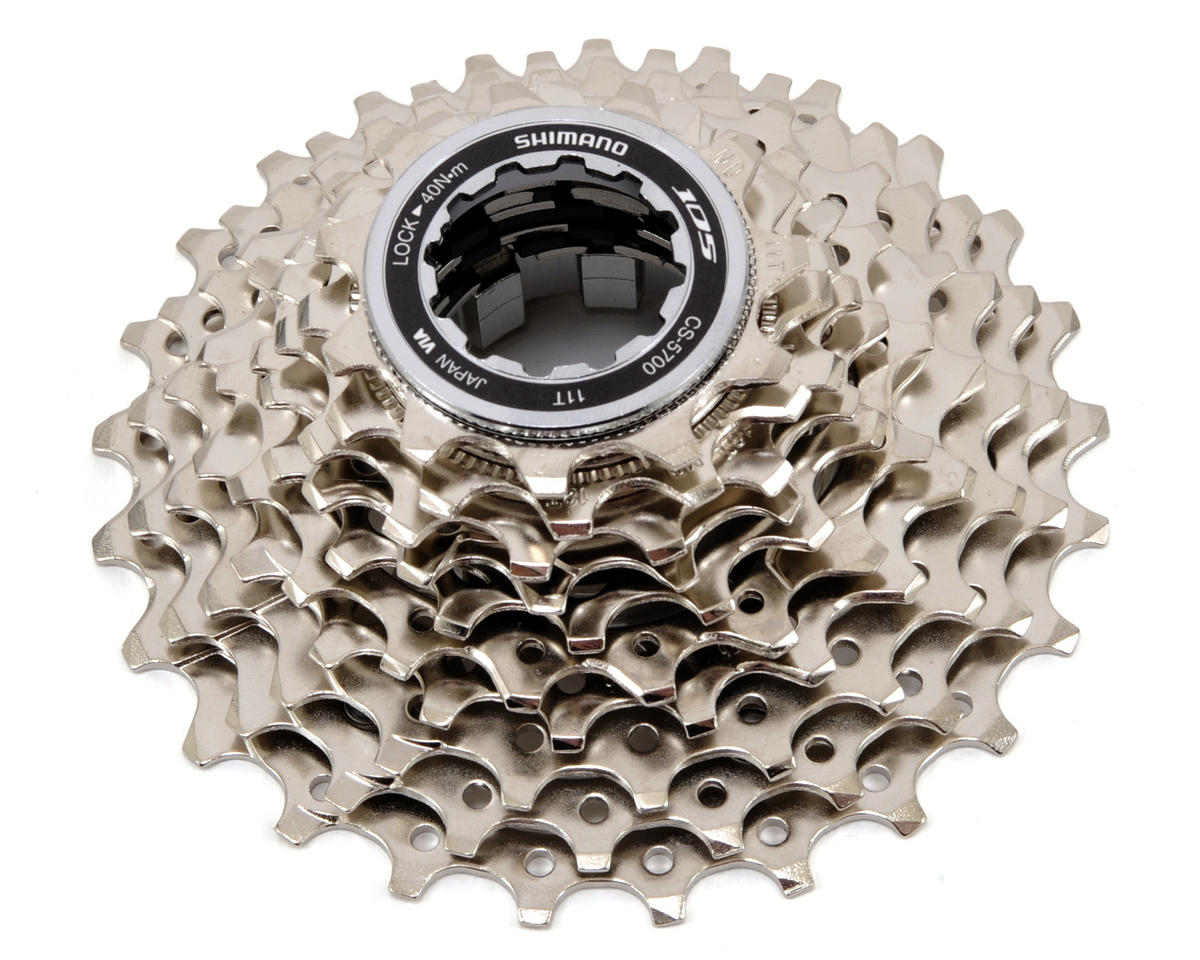 Shimano 105 5700 52t 130mm 10-Speed Chainring Silver