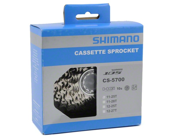 Shimano 105 5700 10-Speed Cassette (11-25T)