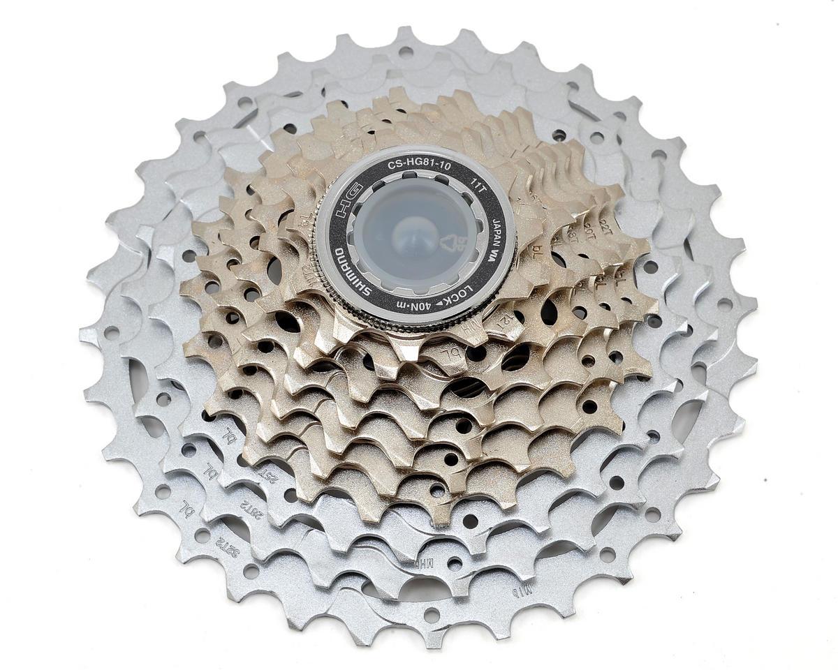 Shimano Cs Hg81 Slx 10 Speed Cassette Icshg8110132 P Parts Performance Bicycle