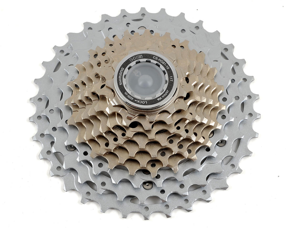 SHIMANO SLX HG81 10 SPEED---11-34T MTB MOUNTAIN BICYCLE CASSETTE