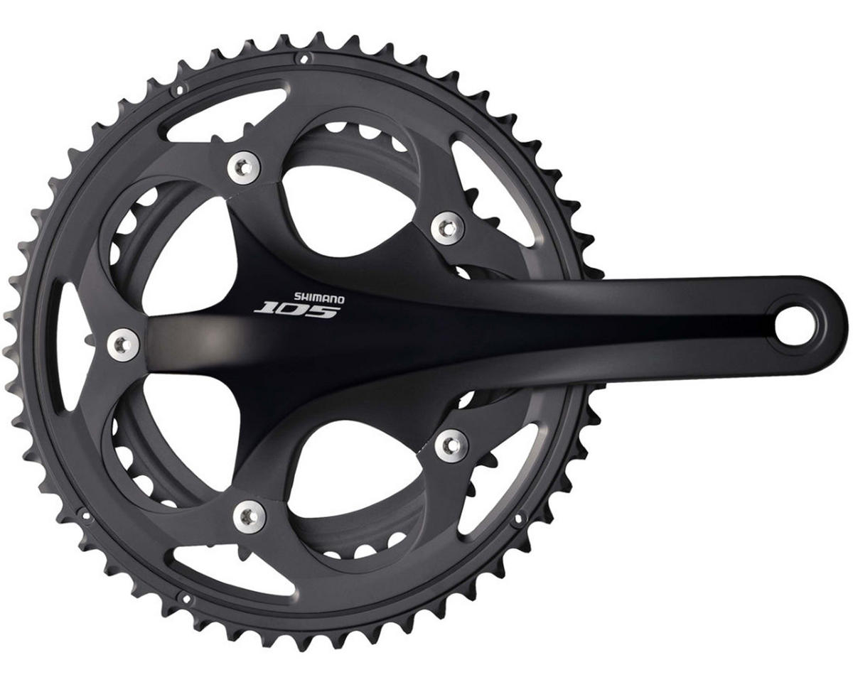 Shimano 105 5750 Double 50/34 Crankset 170Mm Black~ Bottom Bracket Not Included