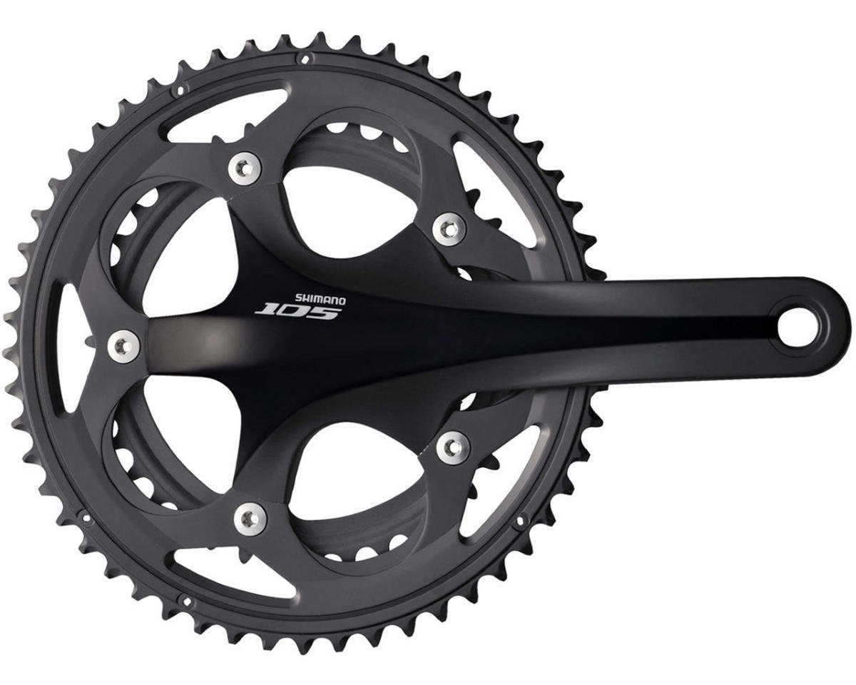 Shimano 105 5750 Double 50/34 Crankset (Black) (170mm)