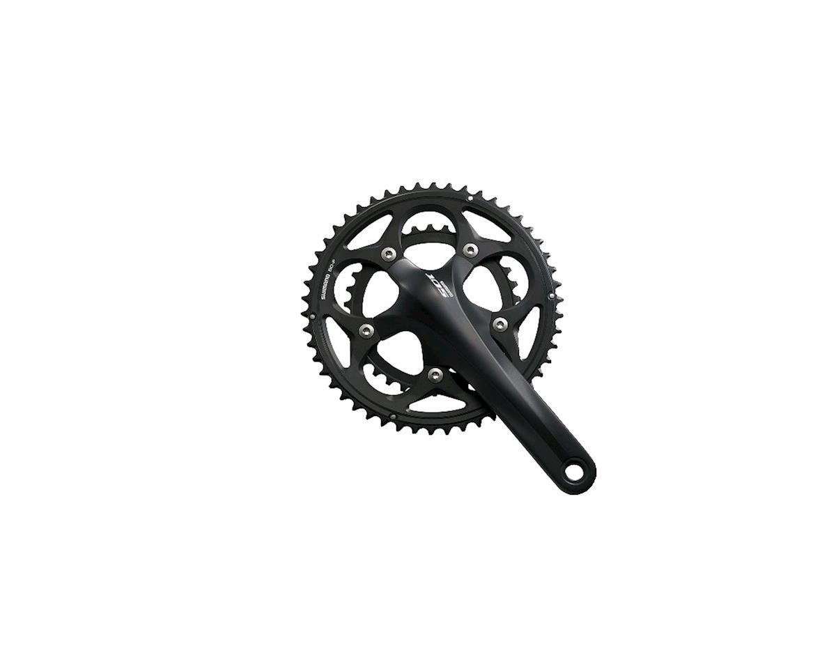 Shimano 105 5750 10-Speed Crankset (Black) (34/50T) (172.5mm)