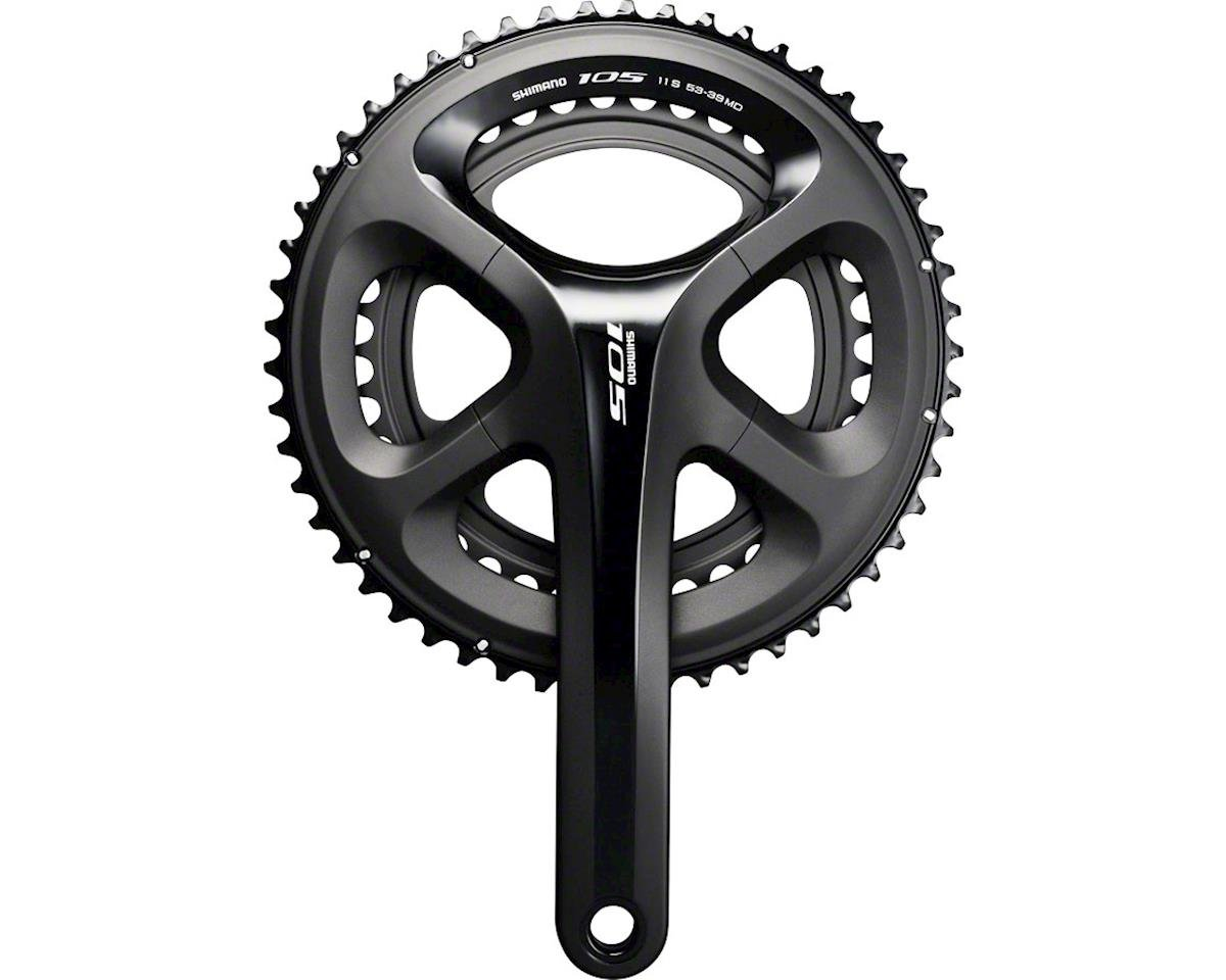 Shimano 105 5800 11-Speed Crankset (Black) (39/53T) (170mm)