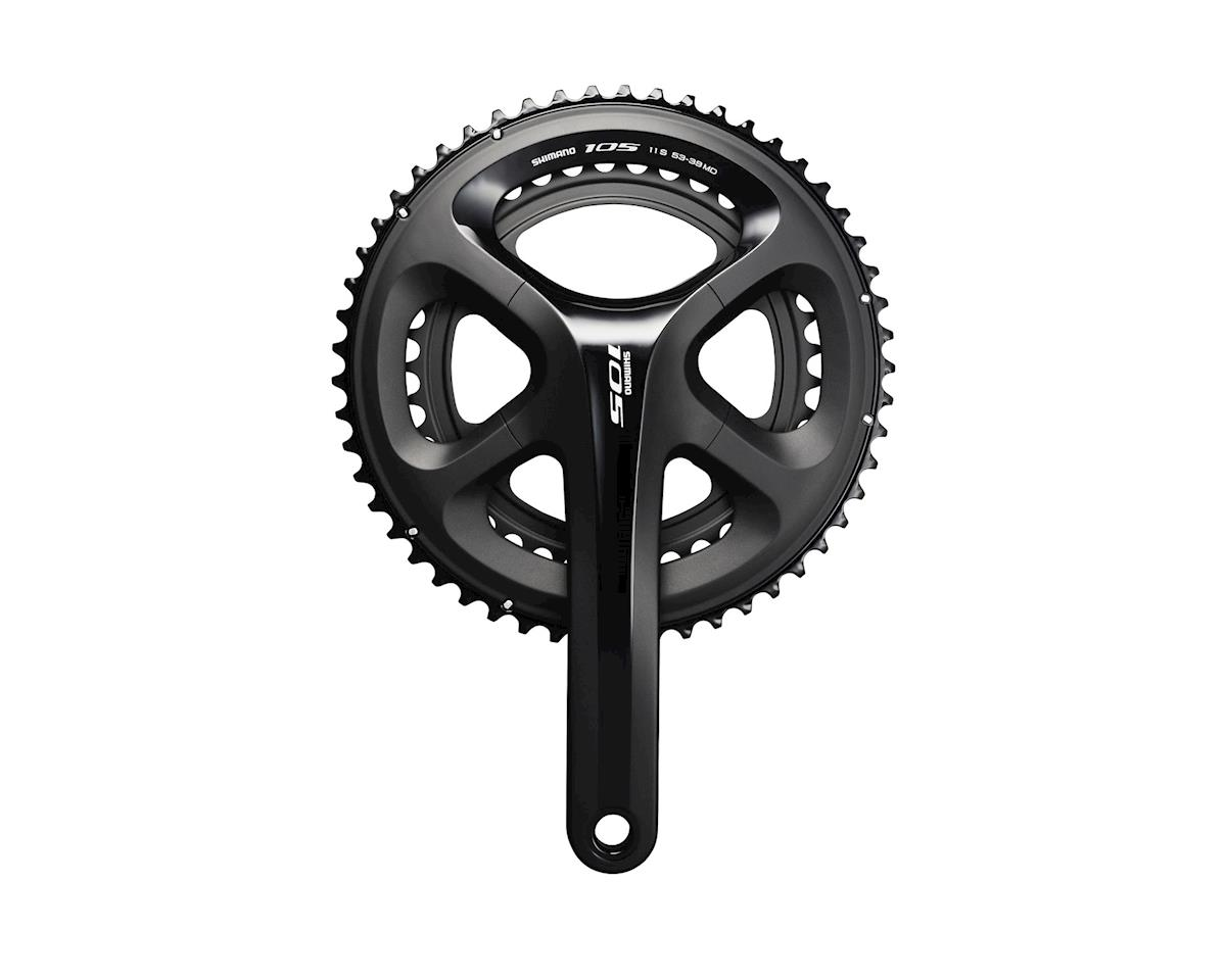Shimano 105 5800 11-Speed Crankset (Black) (39/53T) (172.5mm)