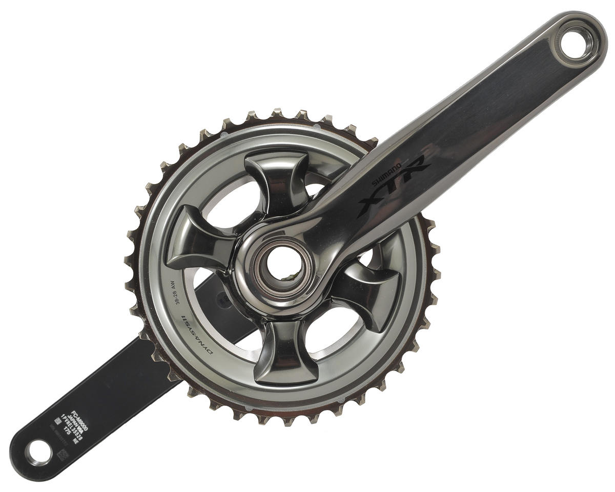 Shimano FC-M9000-2 XTR Hollowtech 2 Race Crankset (175mm) (38-28T)