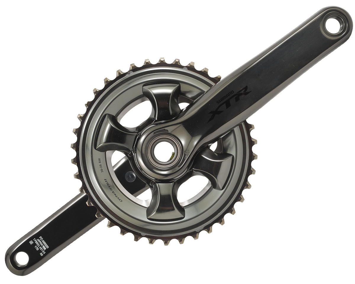 Shimano FC-M9020-2 XTR Hollowtech 2 Trail Crankset (170mm) (38-28T)