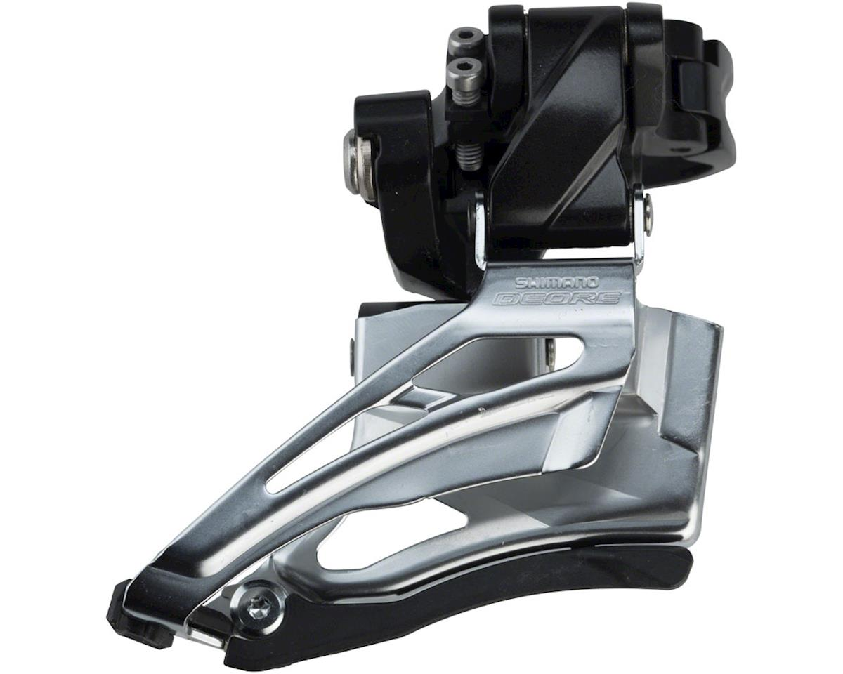 Shimano Deore FD-M6025-H 2x10 Front Derailleur (31.8/34.9mm) (Dual-Pull)