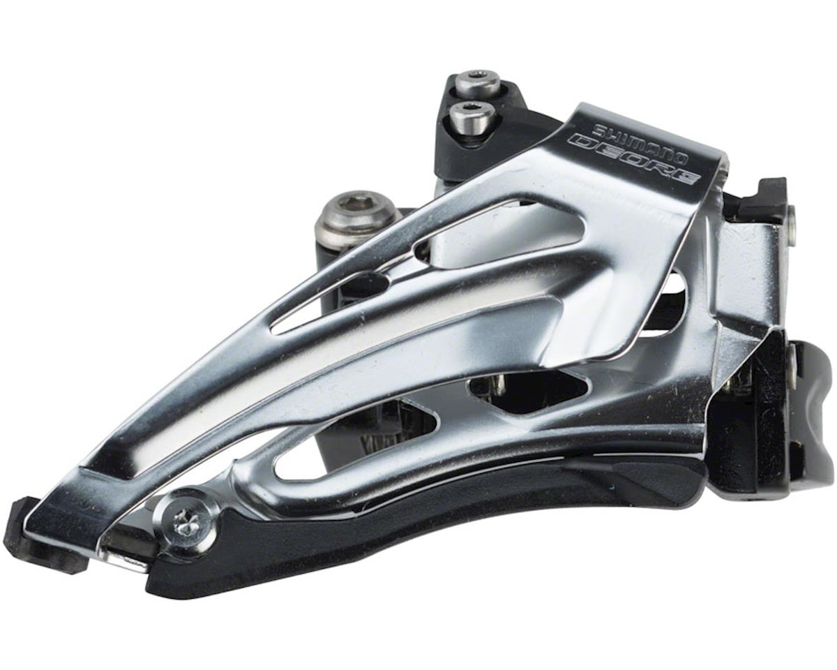 Shimano Deore FD-M6025-L 2x10 Front Derailleur (31.8/34.9mm) (Bottom-Pull)