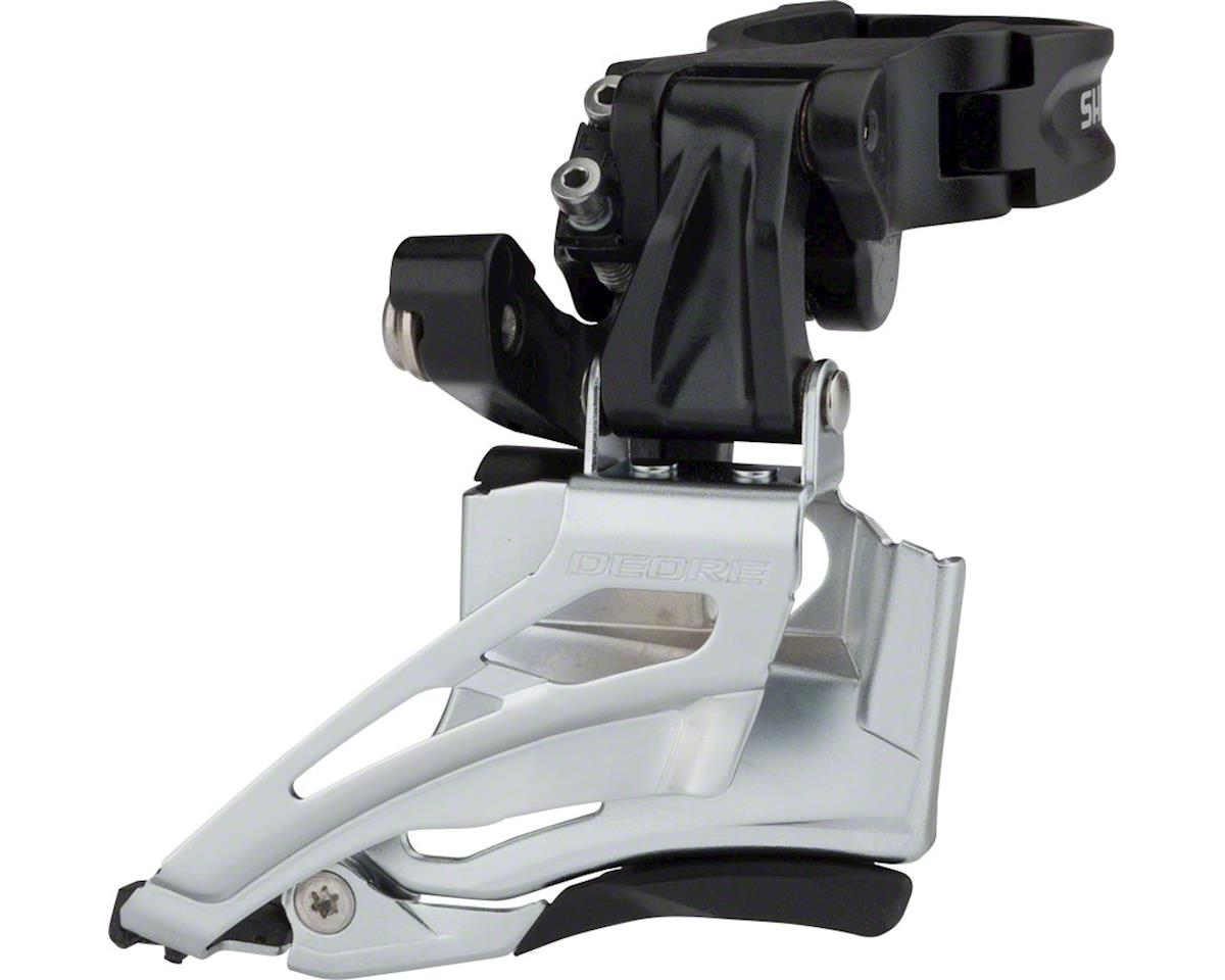Shimano Deore FD-M618-H 2x10 Front Derailleur (Down-Swing) (28.6/31.8/34.9mm)