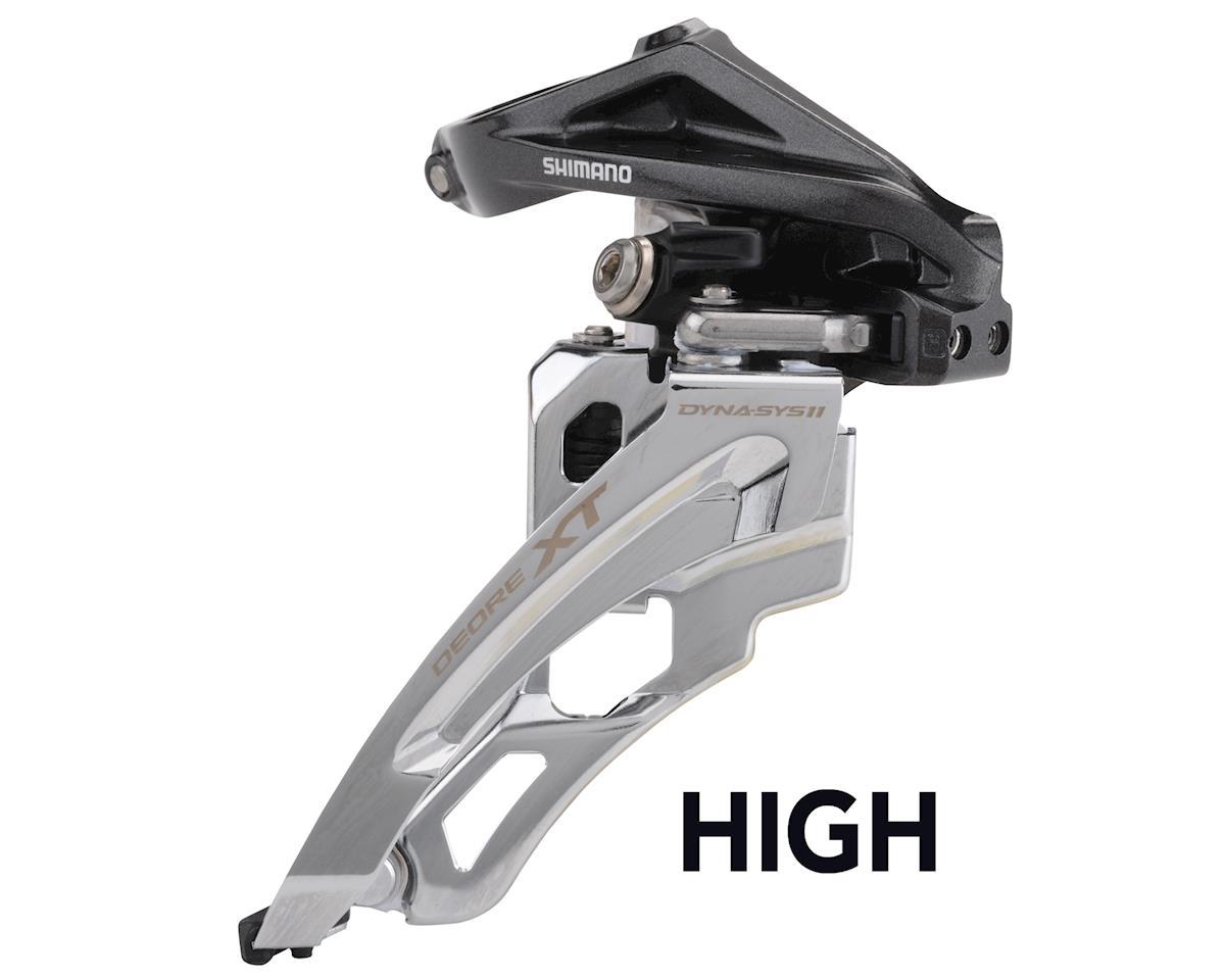 Shimano XT FD-M8000-L 3x11 Front Derailleur (Side-Swing) (28.6/31.8/34.9mm)