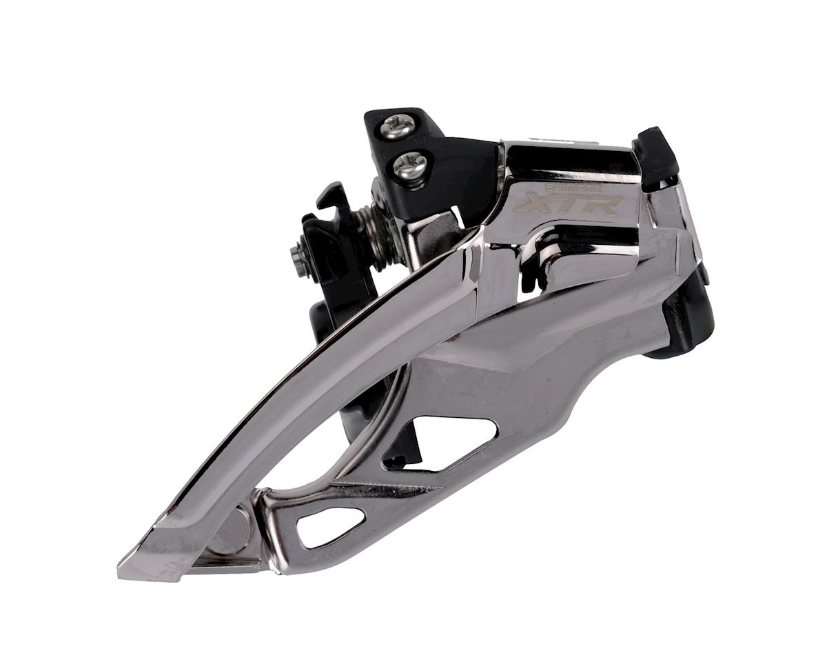 Shimano Xtr M985 2X10-Speed Multi-Clamp Top-Swing Front Derailleur For Mountain Double Cranks