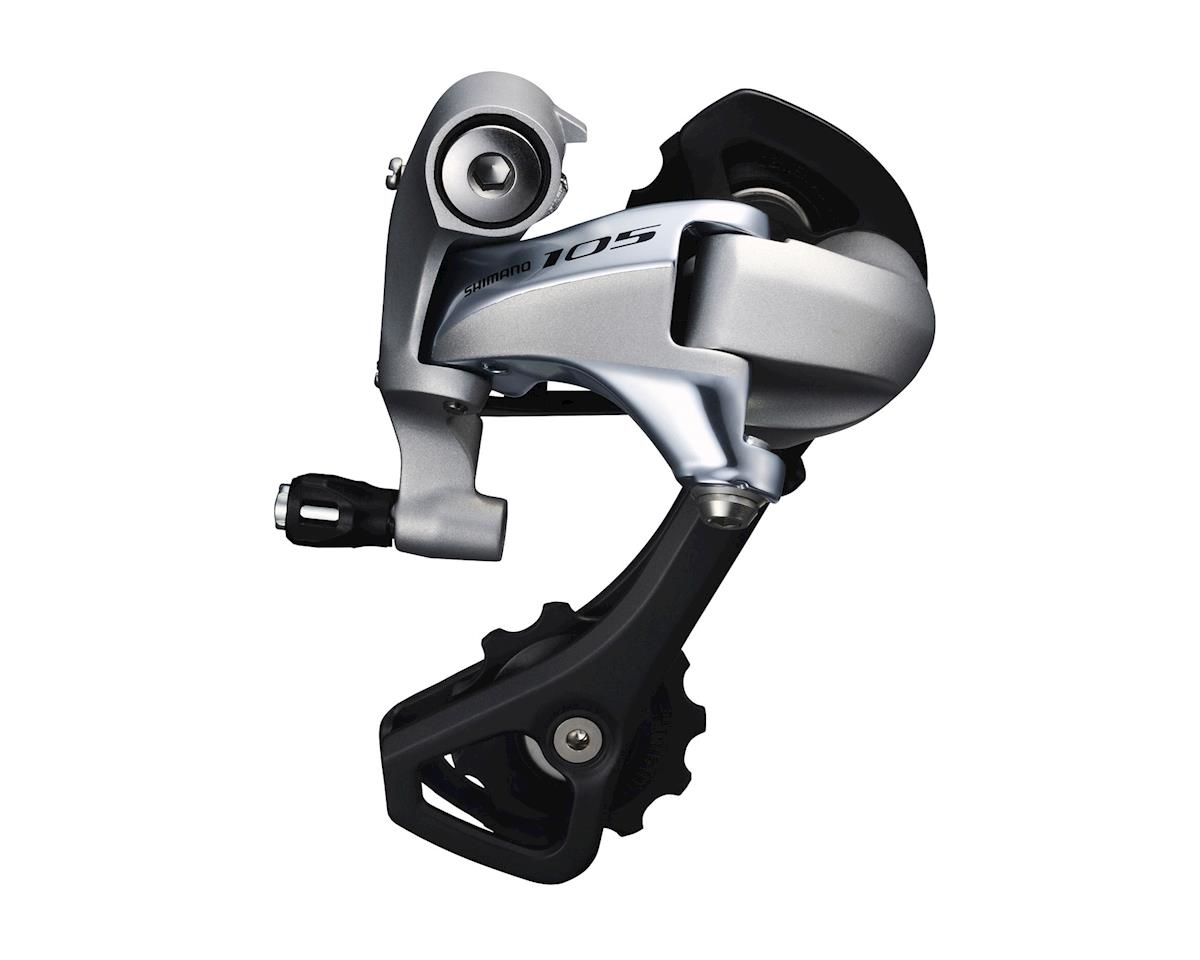 Shimano 105 RD-5800-GS 11-Speed Rear Derailleur (Silver) (Medium Cage)