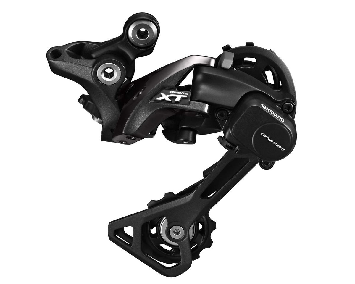 Shimano XT M8000-GS 11-Speed Medium Cage Shadow+ Rear Derailleur