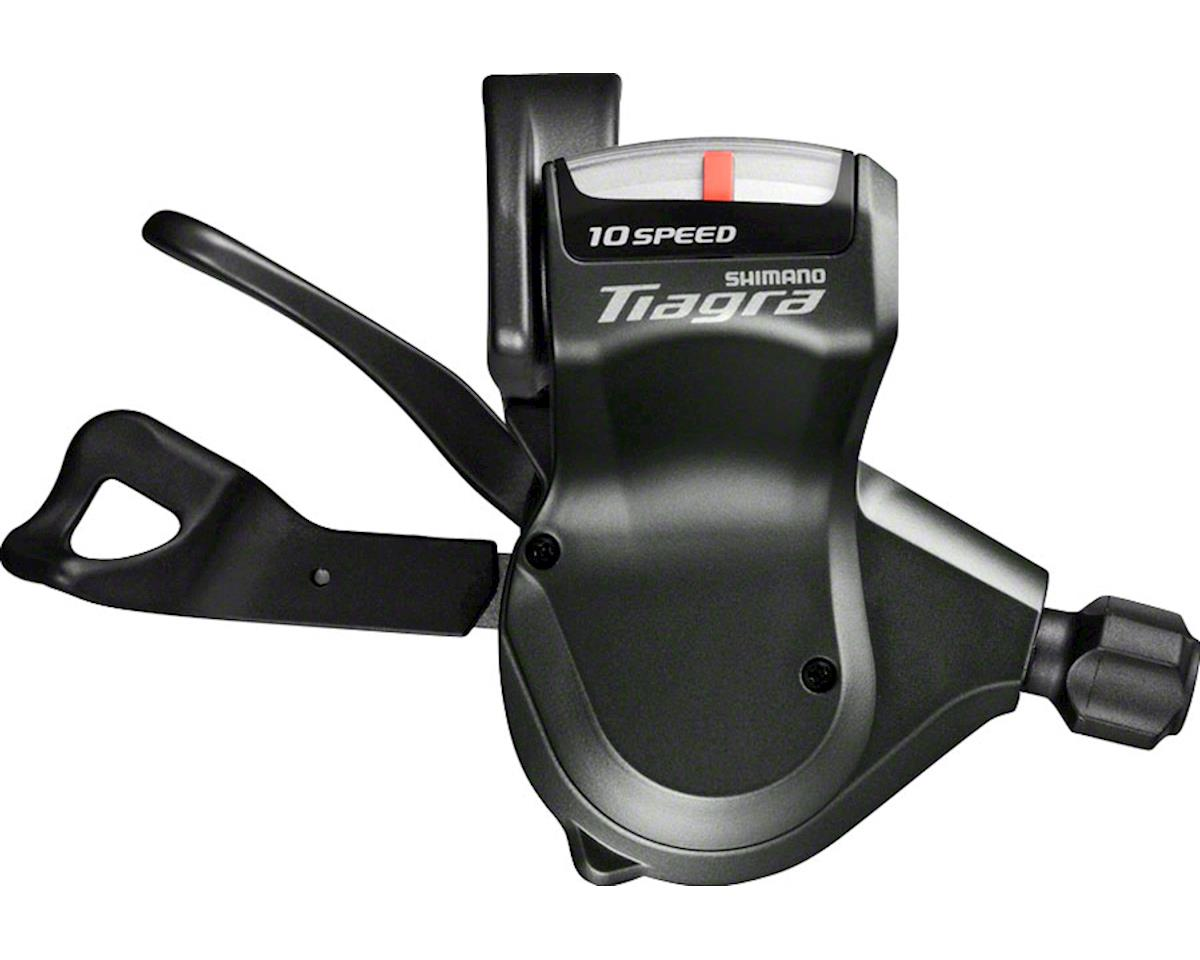 Shimano Tiagra SL-4700 2x10-Speed Flat Bar Road Shifter Set (Black)