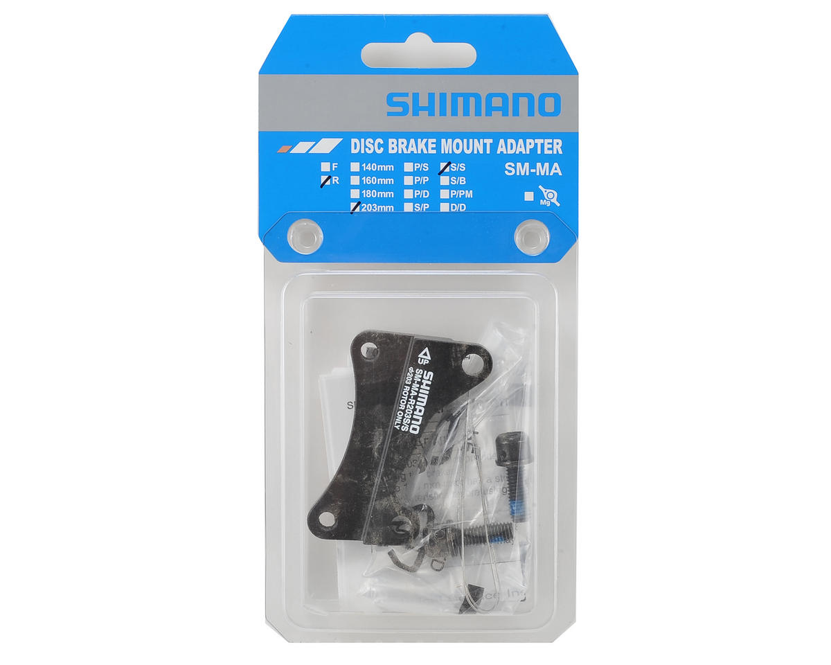 Shimano R203 S/S Disc Brake Apapter (Rear 203mm)