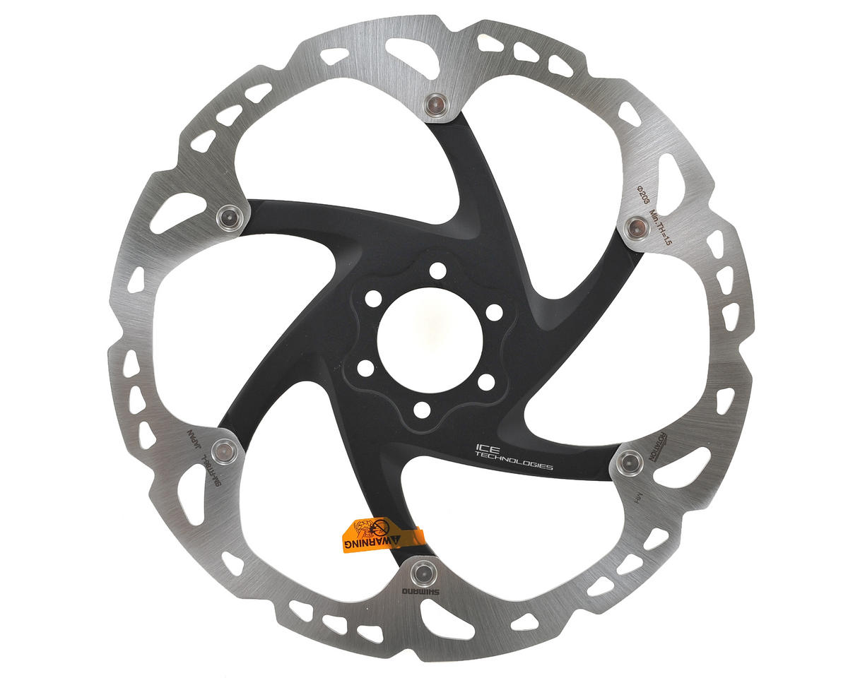 Shimano XT RT86 Icetech Disc Brake Rotor (6-Bolt) (203mm)