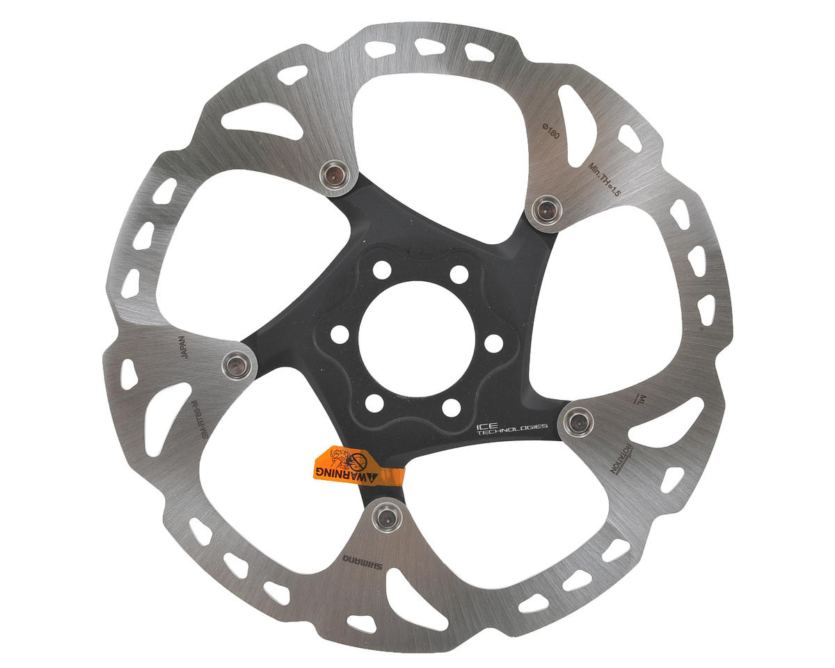 Shimano XT RT86 Icetech Disc Brake Rotor (6-Bolt) (180mm)