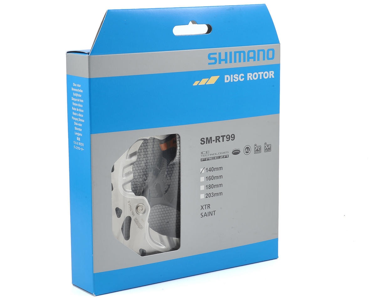 Shimano XTR/Saint SM-RT99 Ice-Tech Center Lock Freeza Brake Rotor (140mm)
