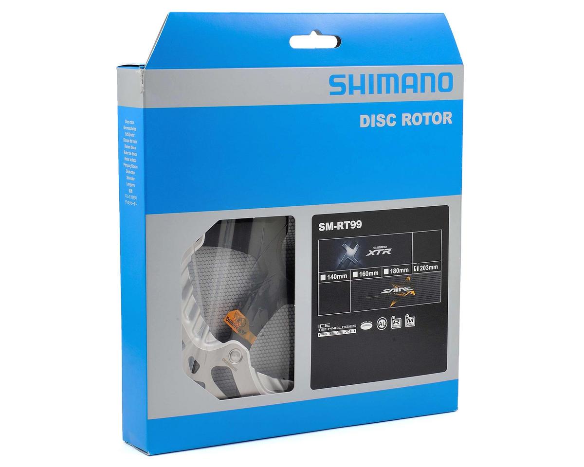 Image 3 for Shimano XTR/Saint SM-RT99 Ice-Tech Center Lock Freeza Brake Rotor (203mm)