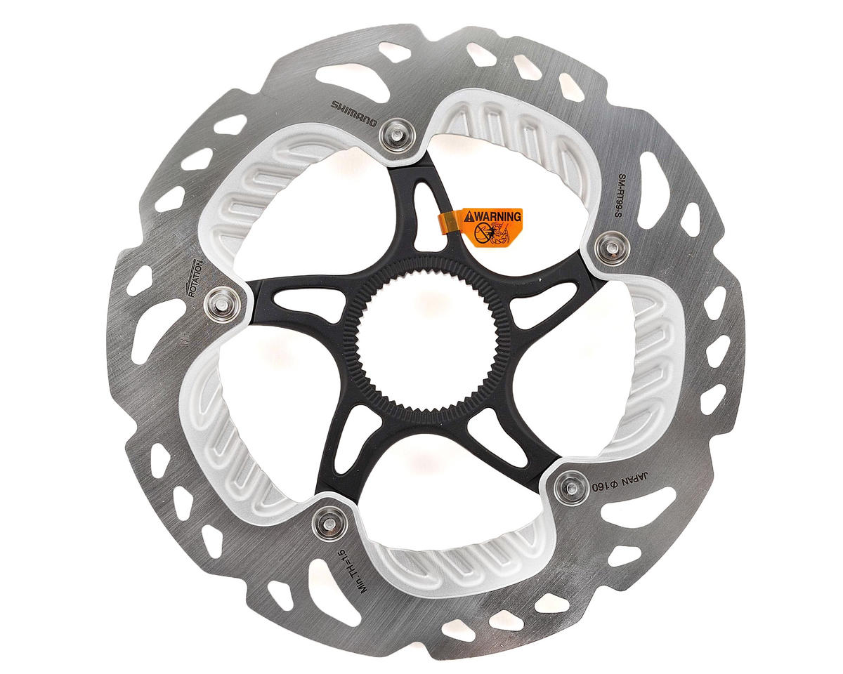Image 1 for Shimano XTR/Saint SM-RT99 Ice-Tech Center Lock Freeza Brake Rotor (160mm)