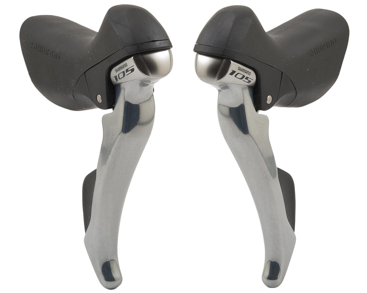 Shimano 105 ST-5800 11-Speed Lever Set (Silver)