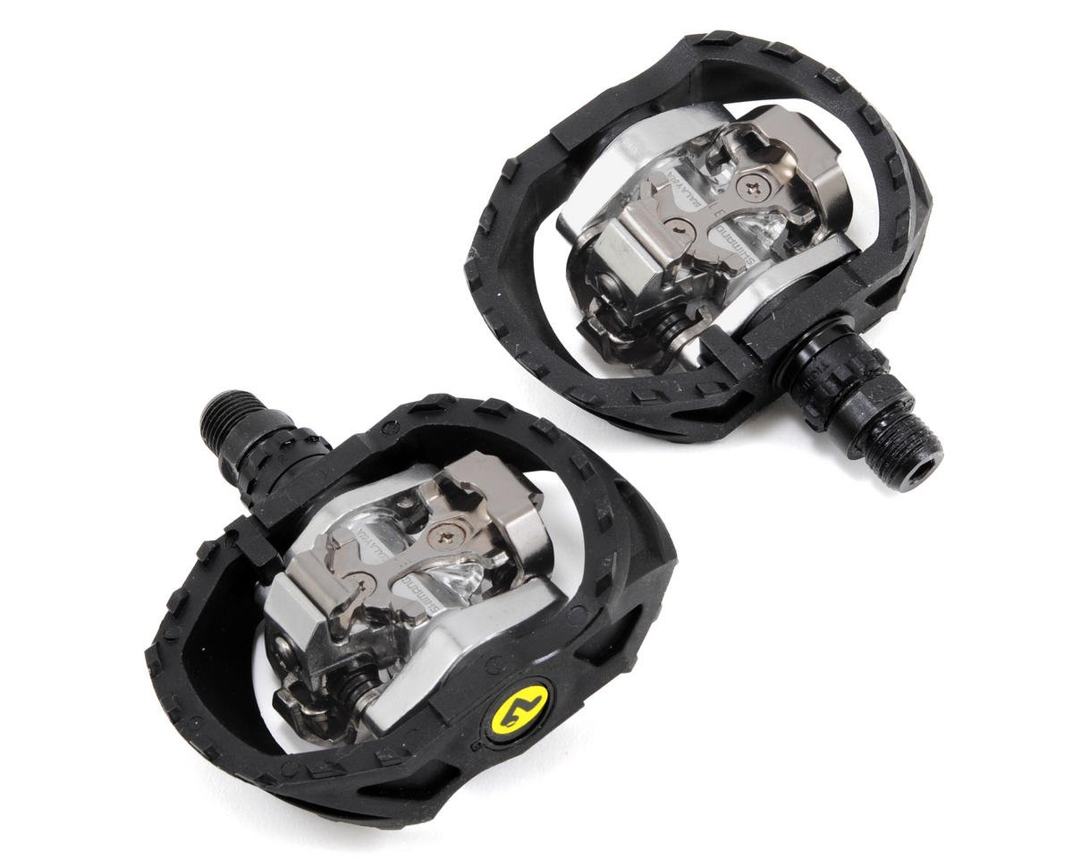 Shimano PD-M424 Caged SPD Pedals w/SM-SH51 Cleats (Black)