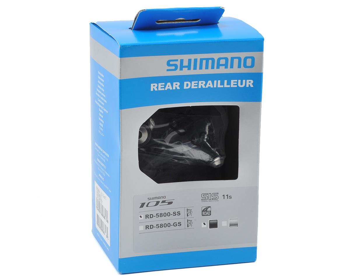Shimano 105 5800 11-Speed Short Cage Rear Derailleur (Black)