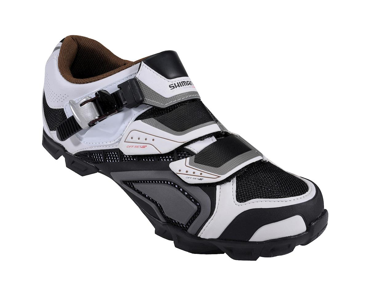 Shimano SH-M162 MTB Shoes (Black/White) (48)