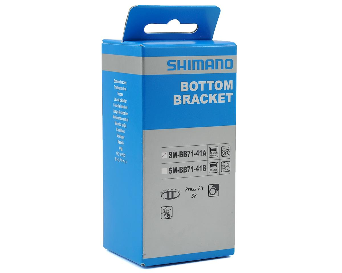 Shimano BOTTOM BRACKET, SM-BB71-41A PRESS FIT TYPE FOR MTB, RIGHT & LEFT ADAPTER, BEARING, INNER COVER, IND.PACK