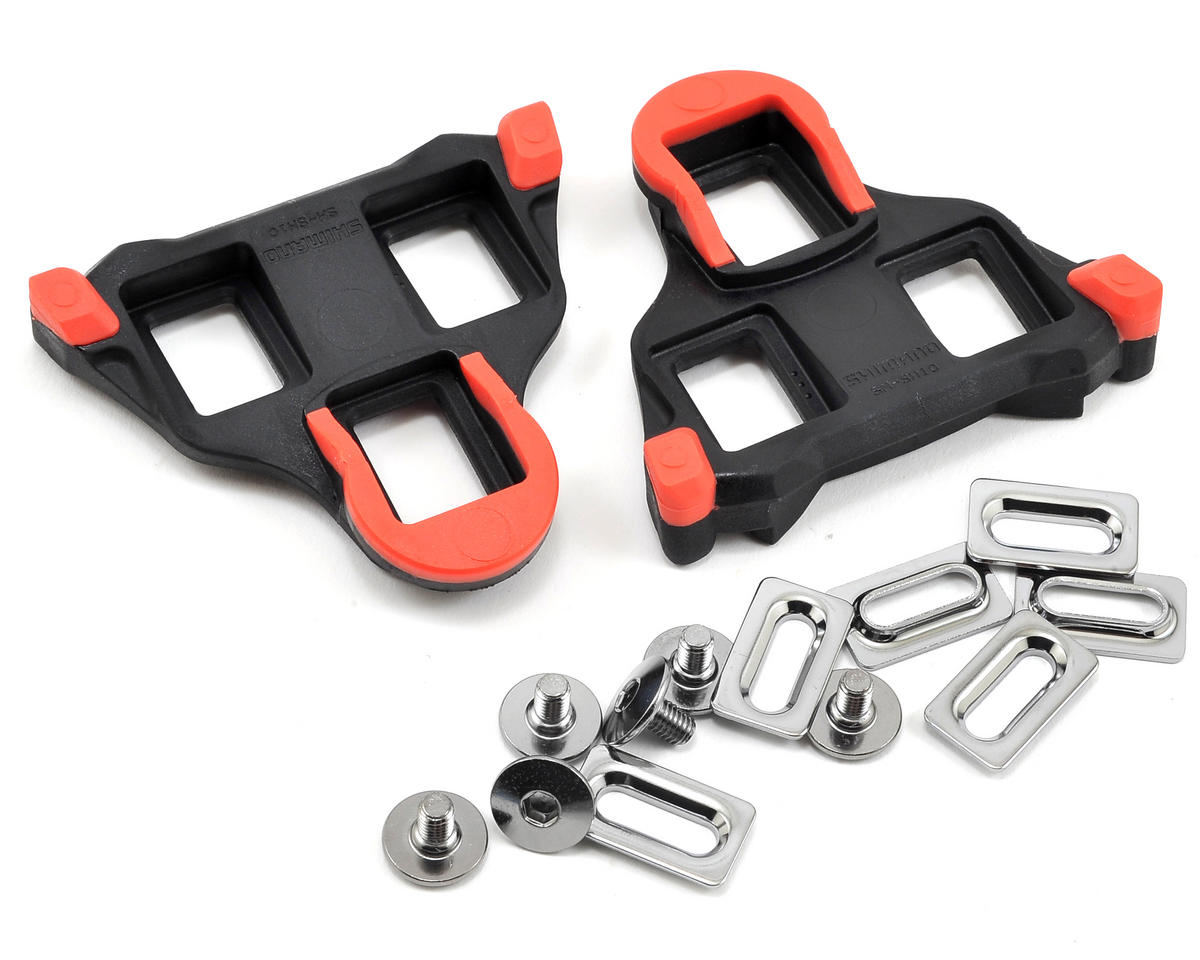Shimano SM-SH10 SPD-SL Cleat Set With Hardware (Fixed)