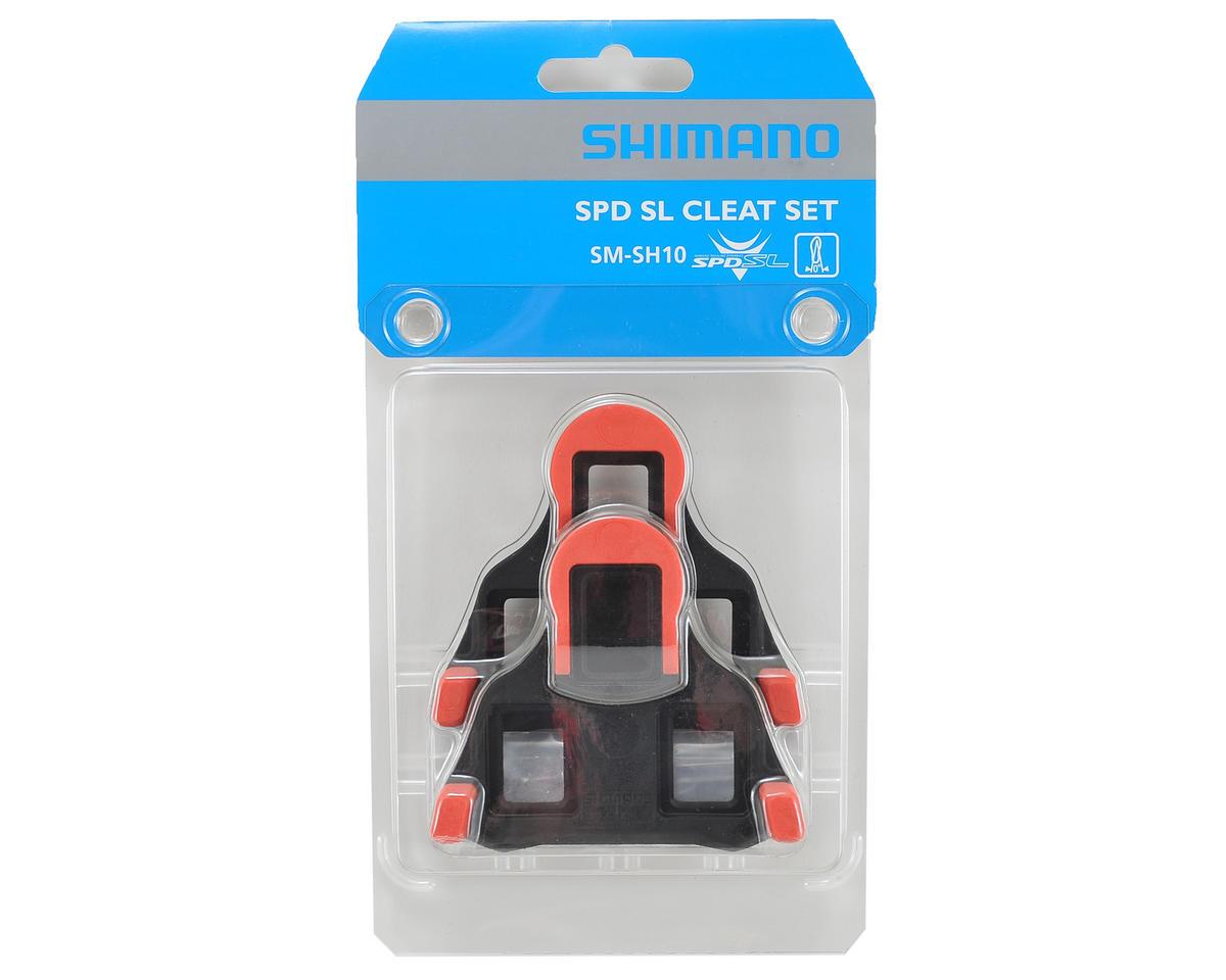 92a39f2c5 Shimano SM-SH10 SPD-SL Road Cleats (Red Zero Float)  Y42U98020 ...