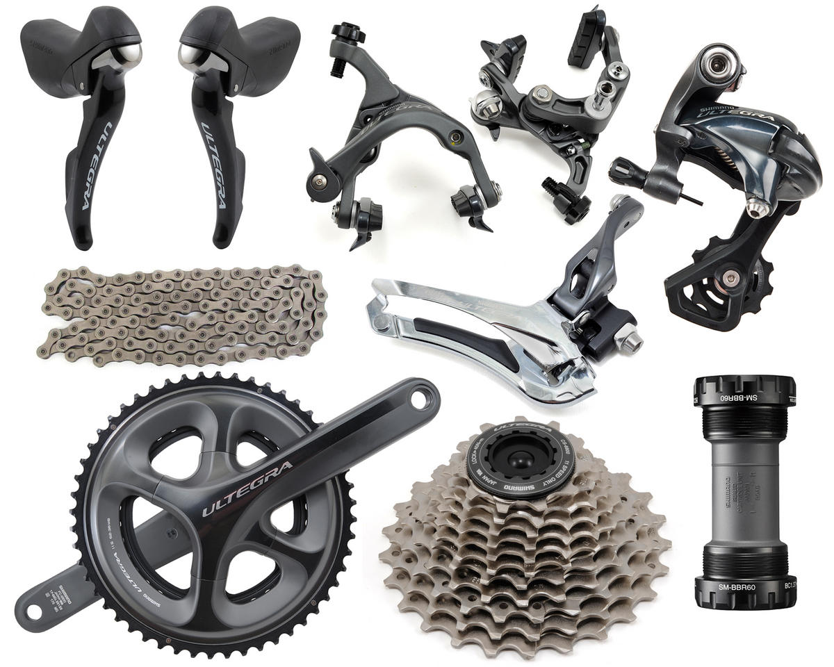 Shimano Ultegra 6800 Mid-Compact Groupset (52/36) (170mm) (11-23T)