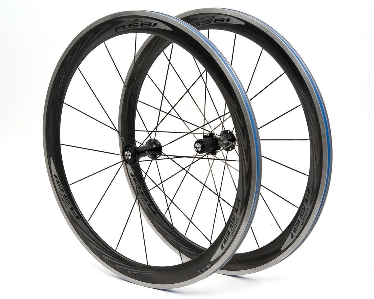 Shimano WH-RS81 C50 Clincher Wheel Set