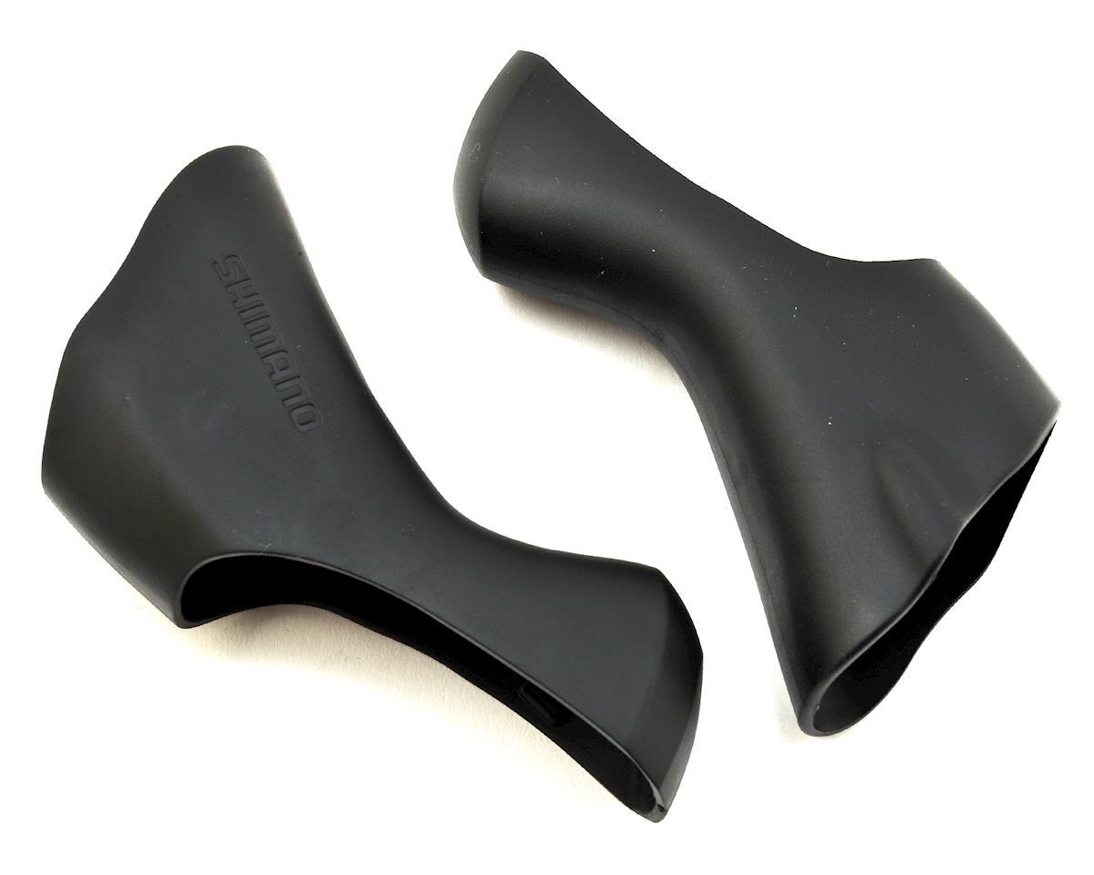 Shimano Ultegra ST-6800; 105 ST-5800 STI Gear Lever Rubber Covers White Hoods