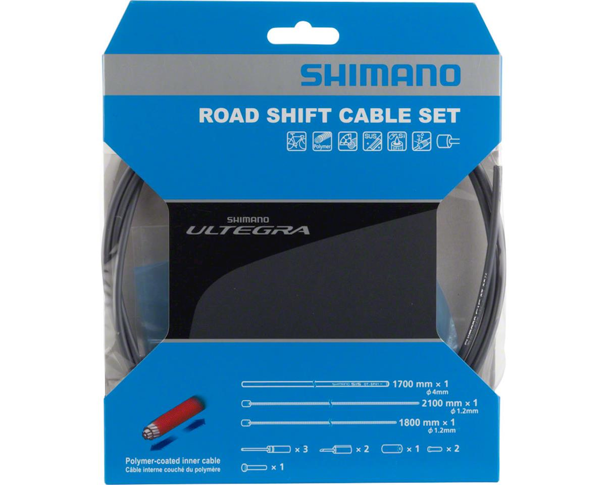 Shimano Ultegra SP41 Polymer-Coated Derailleur Cable Set (High-Tech Gray)