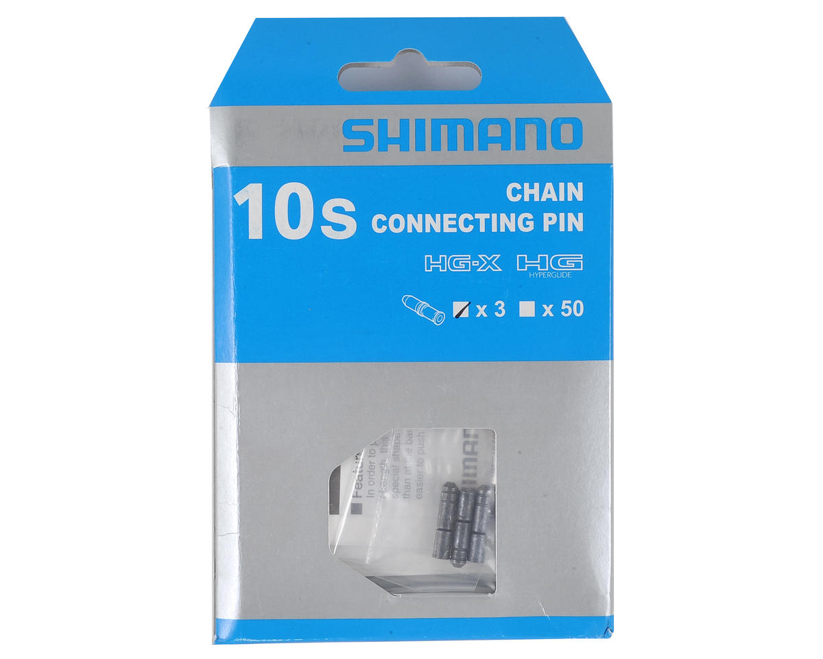 Shimano HGg & IG 10 Speed Chain Pins (Black) (3 Pack)