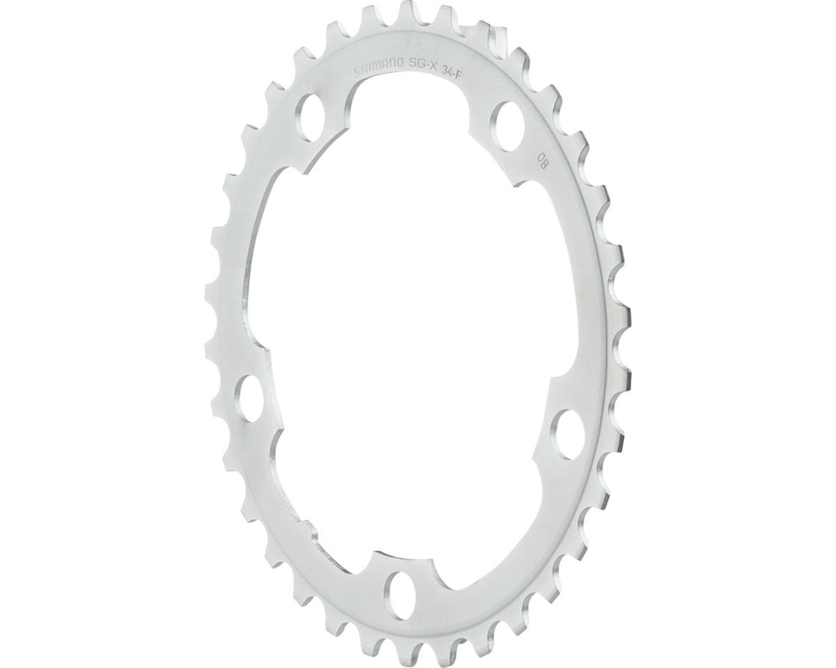 Shimano Tiagra 4550 9-Speed Chainring (Silver) (34T) (110mm)