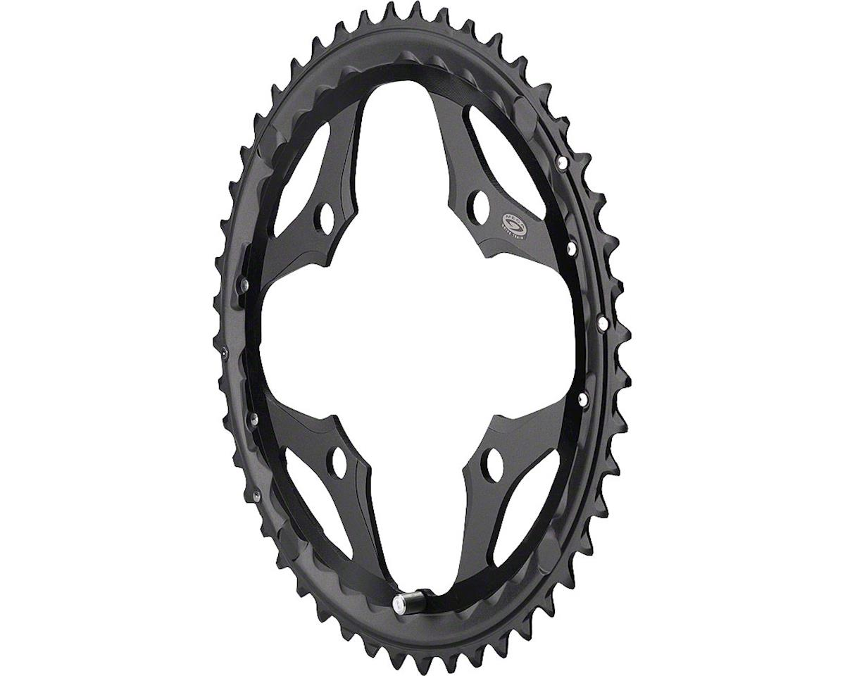Shimano SLX M660 Outer Chainring (Black) (44T) (104 BCD)
