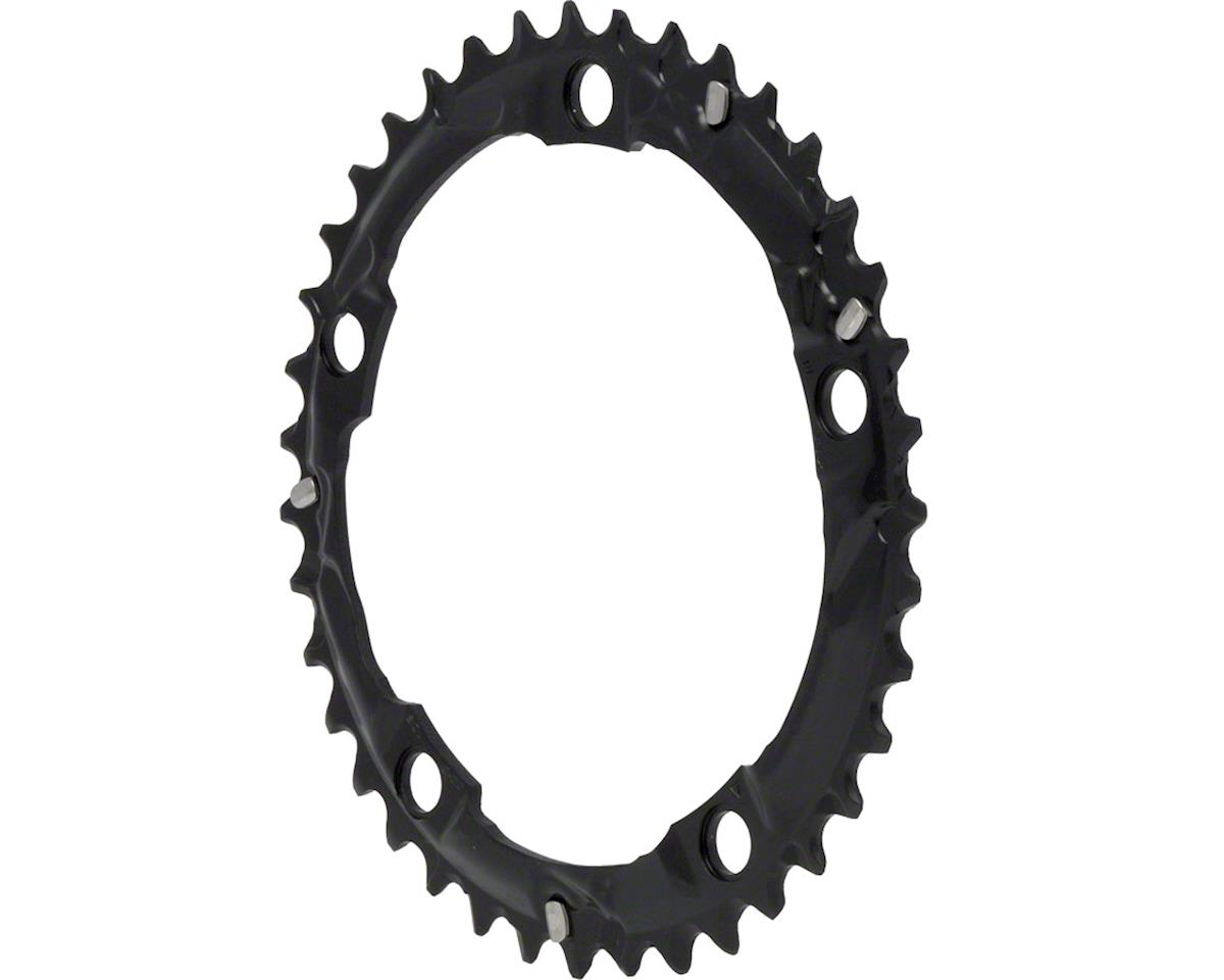 Shimano 105 5703-L Triple Middle Chainring (Black) (39T) (130 BCD)