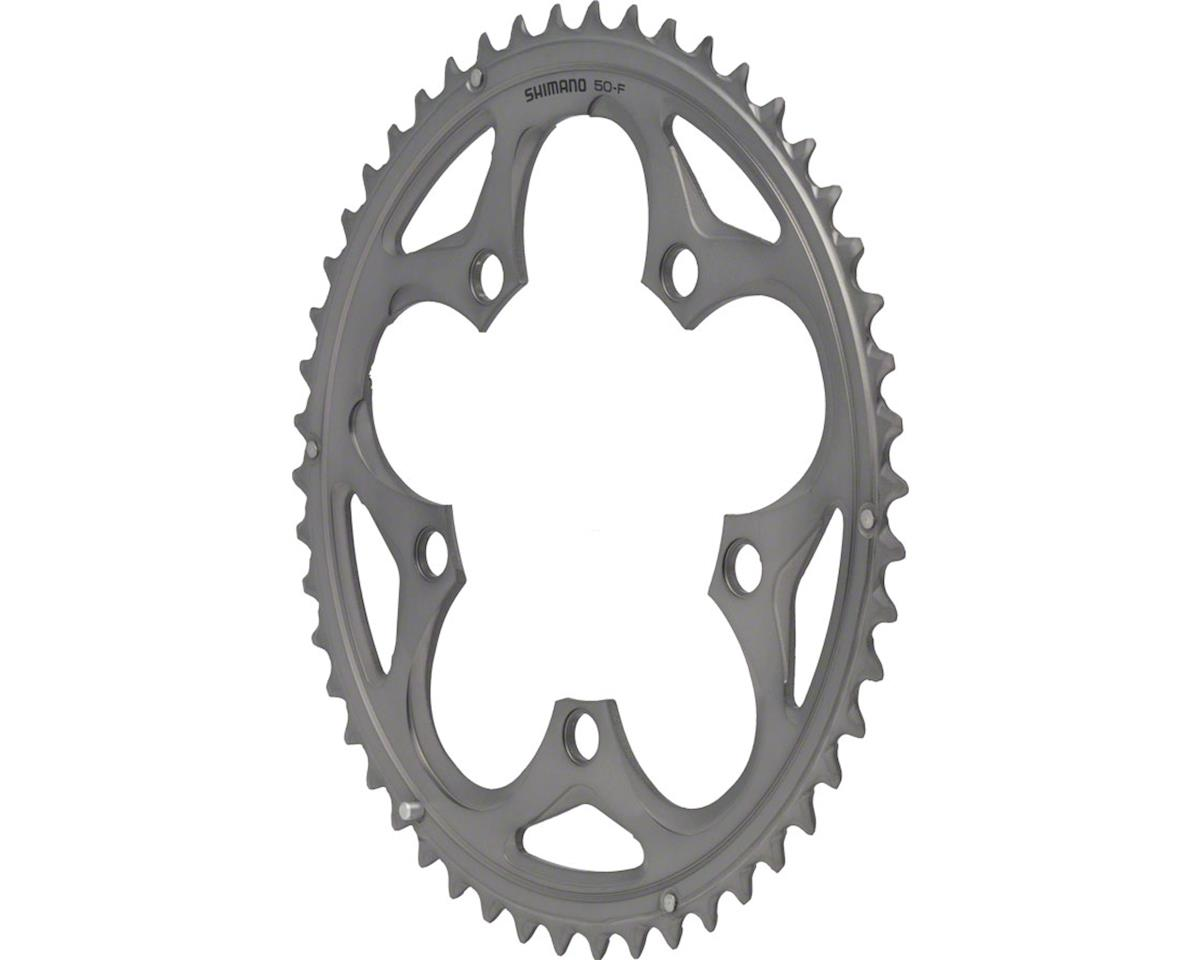 Shimano 105 5750-S Chainring (Silver) (50T) (110 BCD)